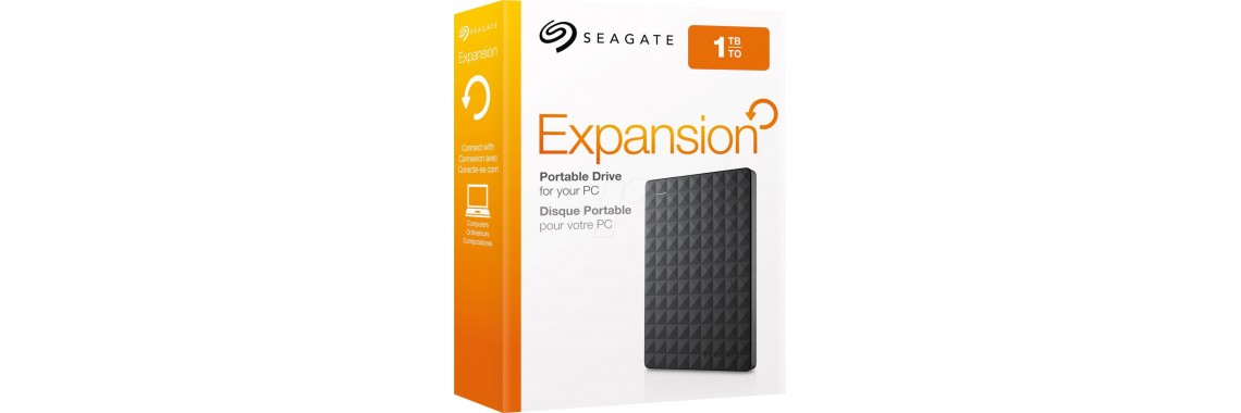 "Seagate 2.5"" Expansion Portable Drive - 1TB"